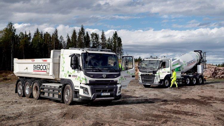 Volvo Trucks începe testarea în condiții reale e a camioanelor pentru industria construcțiilor